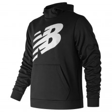 Sweat à capuche New Balance CoreFleece Graphic Noir