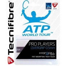 Tecnifibre Overgrip Pro Players x 3 White