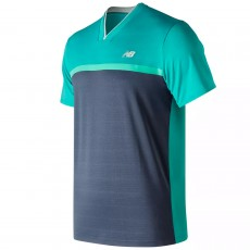 T Shirt New Balance Tournament Navy
