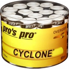 Pro's Pro Overgrip Cyclone x 60 White
