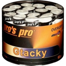 Pro's Pro Overgrip G-Tacky x 60 White