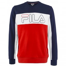 Sweat Fila Randy Bleu Rouge 2019