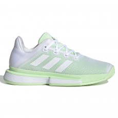 Adidas SoleMatch Bounce W White / Glow Green