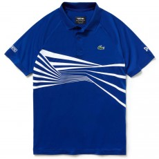 Polo Lacoste Djokovic Blue Indian Wells Miami 2019