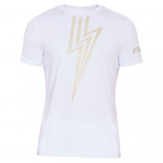 T Shirt Hydrogen Tech Flash White / Gold