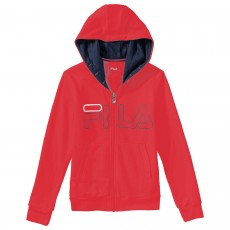 Veste à capuche Fila Junior William Kids Rouge