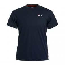 T Shirt Fila Junior Logo Bleu