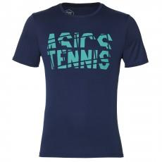 T Shirt Asics Junior Tennis GPX Bleu