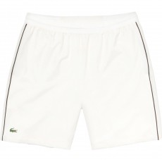 "Short Lacoste 7"" Djokovic White 2019"