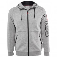 Fila Scott Light Grey Fullzip Hoody