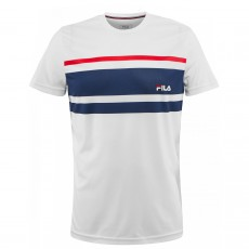 T Shirt Fila Junior Trey Blanc
