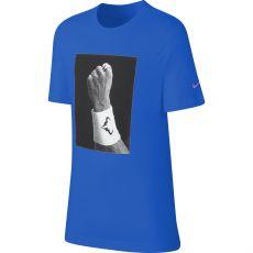 T Shirt Nike Junior Dry Rafael Nadal Bleu Hiver 2019