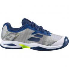 Chaussure Babolat Jet All Court Grey Blue Junior