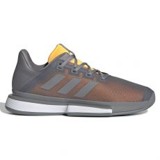 Chaussure Adidas SoleMatch Bounce Gris / Orange