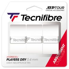 Tecnifibre Overgrip Players Dry x 3 White