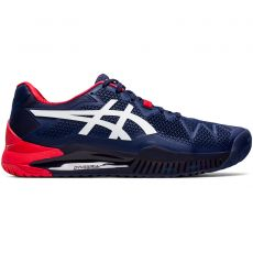 Chaussure Asics Gel Resolution 8 Bleu Peacoat White SS20