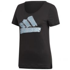 T Shirt Adidas Badge of Sport Special Noir