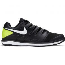 Chaussure Nike Zoom Vapor X Clay Noir / Jaune Fluo Printemps 2020