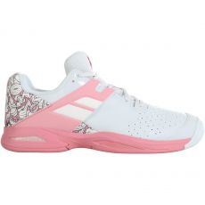 Chaussure Babolat Propulse All Court Junior White Pink