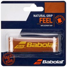 Grip cuir Babolat Natural Grip Marron