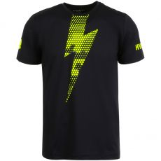 T Shirt Hydrogen Tech Thunderbolt Black / Yellow