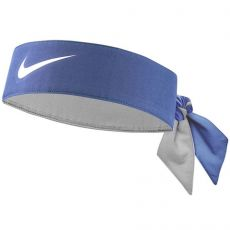 Headband Nike Dri-Fit blue white 2020