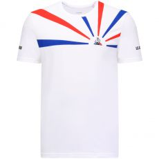 TShirt Le Coq Sportif 20 N°2 Optical White / Cobalt