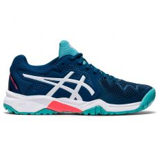 Chaussure Asics Gel Resolution 8 Bleu Mako Blue GS FW20