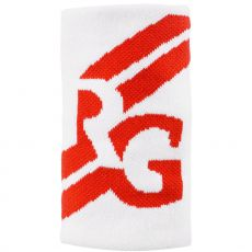 Rolang Garros Large Wristband White / Orange Clay x1