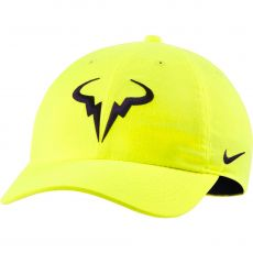 Casquette Nike Nadal Aerobill H86 Vert Fluo Automne 2020