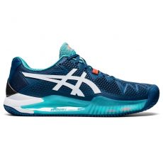 Chaussure Asics Gel Resolution 8 Clay Mako Blue White FW20