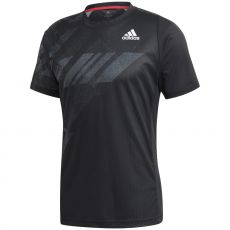 T Shirt Adidas FreeLift Heat.Rdy Printed Noir