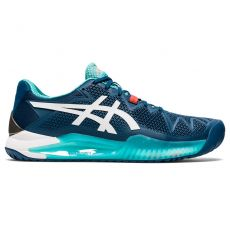 Chaussure Asics Gel Resolution 8 Mako Blue White FW20