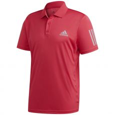 Polo Adidas 3-Stripes Club Rouge Fluo