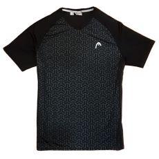 T Shirt Head Padel Alpha Noir