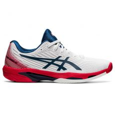 Chaussure Asics Solution Speed FF 2 Blanc / Bleu / Rouge SS 2021