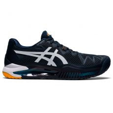 Chaussure Asics Gel Resolution 8 Marine / Blanc SS 2021