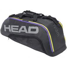 Sac de Tennis Head Tour Team Black Mixed 6R Combi