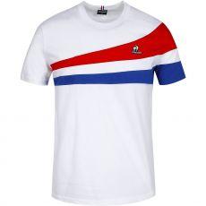 T-Shirt Le Coq Sportif Blanc / Tricolore Paris
