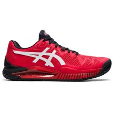 Chaussure Asics Gel Resolution 8 Clay Rouge