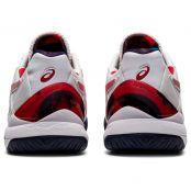 Chaussure Asics Gel Resolution 8 L.E. Blanc / Rouge