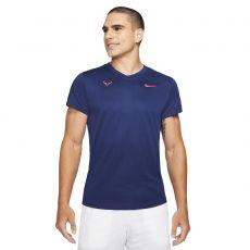 T-Shirt Nike Rafael Nadal Challenger Bleu / Rouge