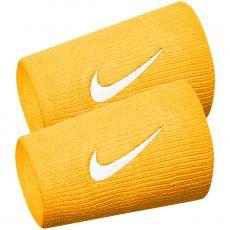 Serre-Poignets Nike Double Largeur Orange / Blanc x 2