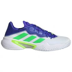 Chaussure Adidas Barricade Blanc / Bleu / Vert