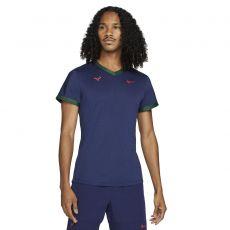T-Shirt Nike Dri-Fit ADV Rafael Nadal Bleu Marine / Vert