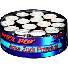 Surgrips Pro's Pro Aquazorb Premium Blanc x 30