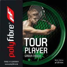 Polyfibre Tour Player Green Touch 12m