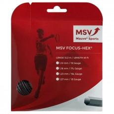 MSV Focus Hex Noir 12m