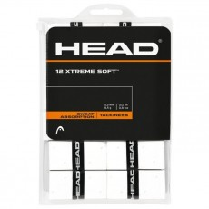 Head Overgrip Extreme Soft White x 12