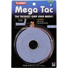 Tourna Mega Tac XL Overgrip Blue x 10